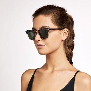 Ray Ban Tortoise Clubmaster Sunglasses